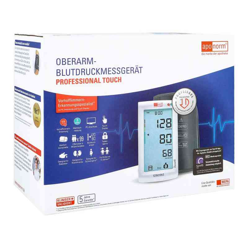 Aponorm Blutdruck Messgerät Prof.touch Oberarm  bei apotheke.at bestellen