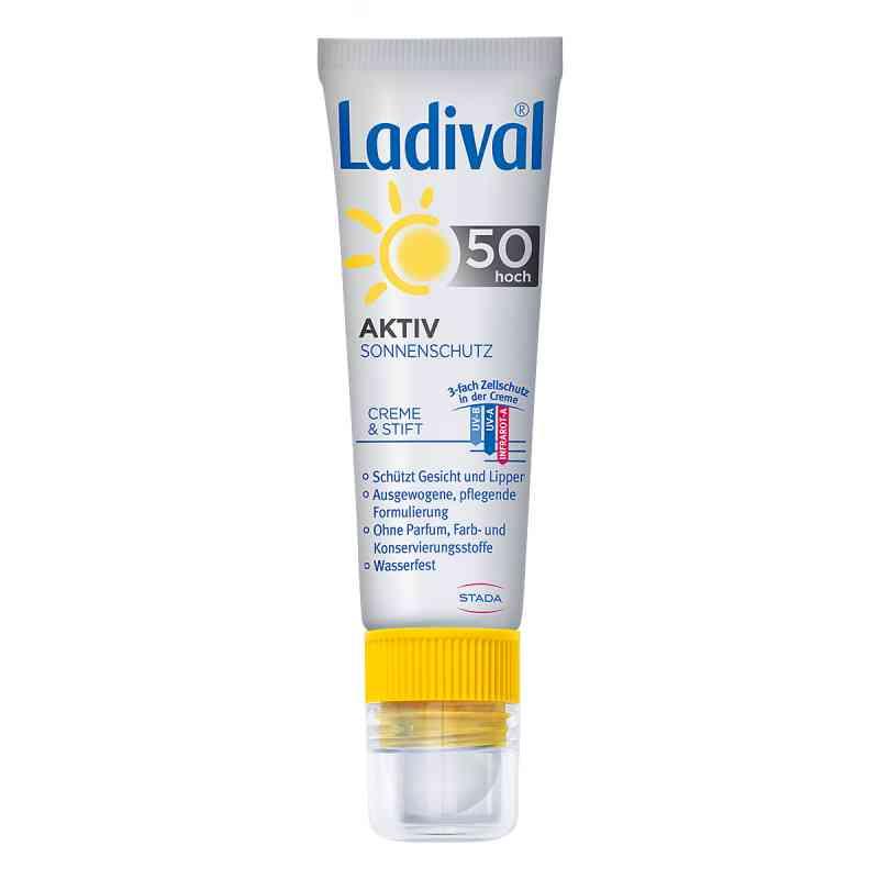 Ladival Aktiv Sonnenschutz für Gesicht und Lipp.LSF 50 bei apotheke.at bestellen