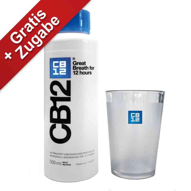 Cb12 Mund Spüllösung+zahnputzbecher gratis  bei apotheke.at bestellen