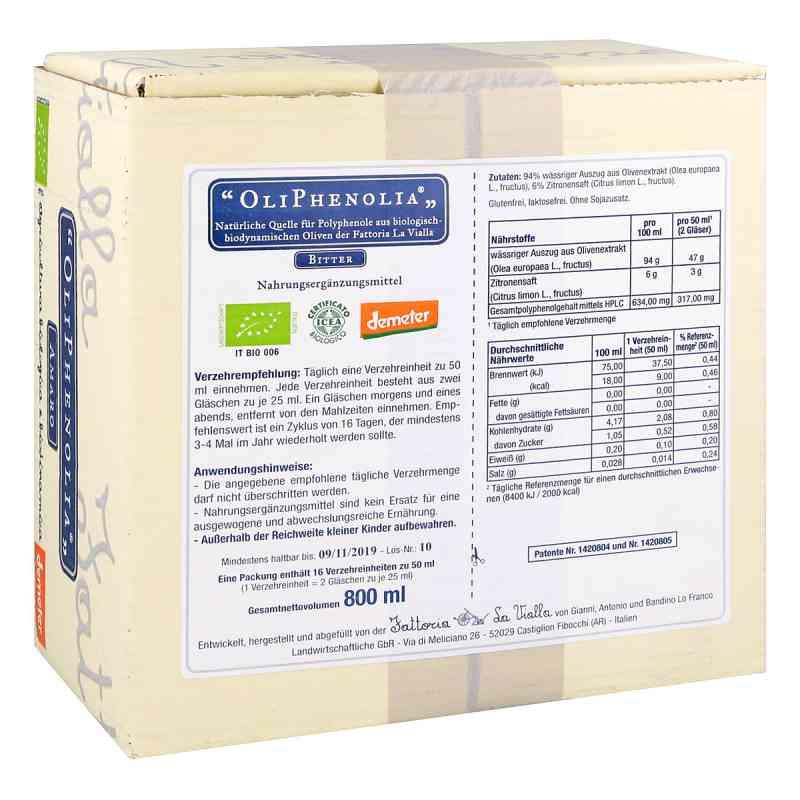 Oliphenolia Bitter Flüssigkeit zum Einnehmen bei apotheke.at bestellen