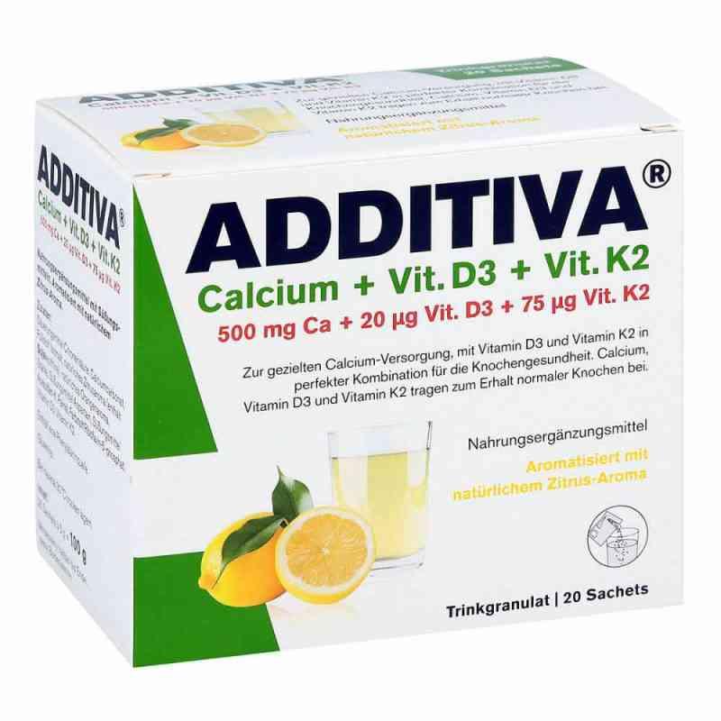 Additiva Calcium+d3+k2 Granulat bei apotheke.at bestellen