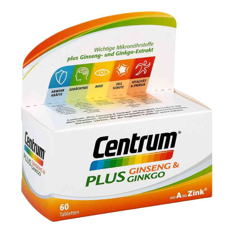 Centrum Plus Ginseng & Ginkgo Tabletten bei apotheke.at bestellen