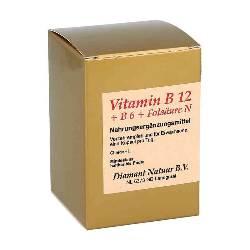 Vitamin B12+b6+folsäure N Kapseln  bei apotheke.at bestellen