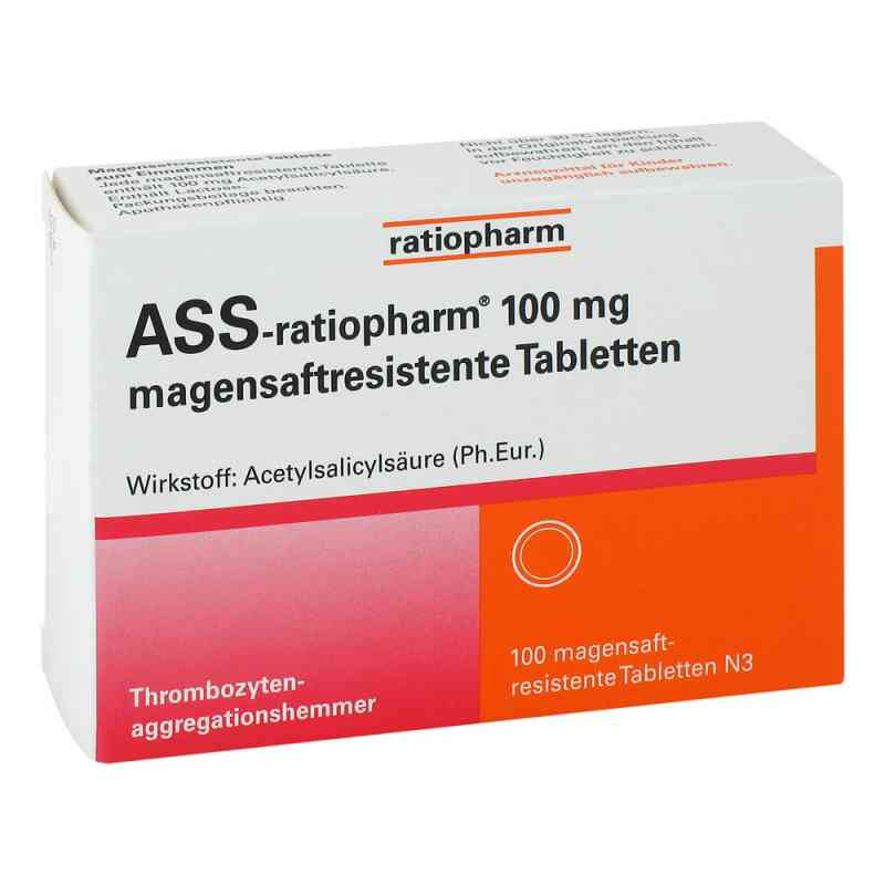 Ass ratiopharm 100 mg magensaftresistent   Tabletten  bei apotheke.at bestellen