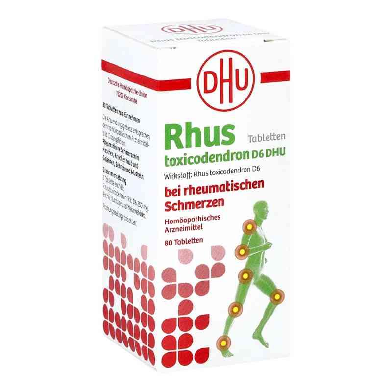 Rhus Tox. D6 Dhu bei rheumatischen Schmerzen Tabletten   bei apotheke.at bestellen