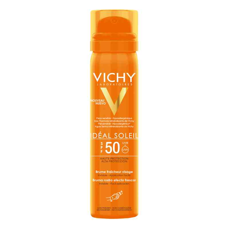 Vichy Ideal Soleil Gesichtsspray Lsf 50 bei apotheke.at bestellen