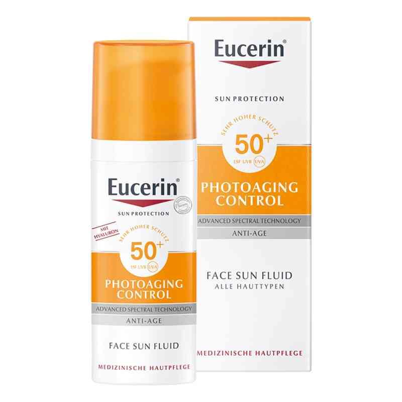 Eucerin Sun Photoaging Control Face Fluid LSF 50  bei apotheke.at bestellen