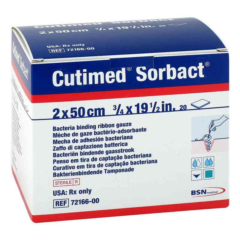 Cutimed Sorbact Tamponaden 2x50 cm  bei apotheke.at bestellen