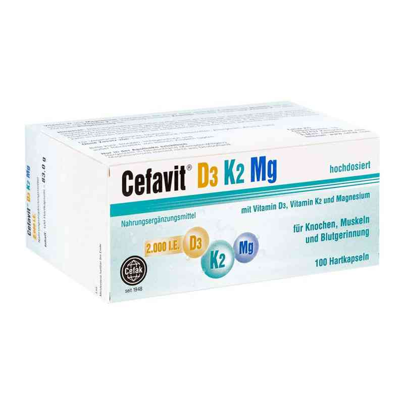 Cefavit D3 K2 Mg Hartkapseln  bei apotheke.at bestellen