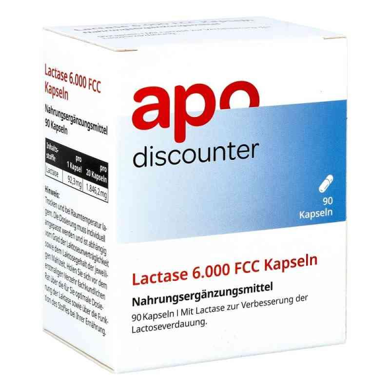 Lactase 6.000 Fcc Kapseln von apo-discounter  bei apotheke.at bestellen