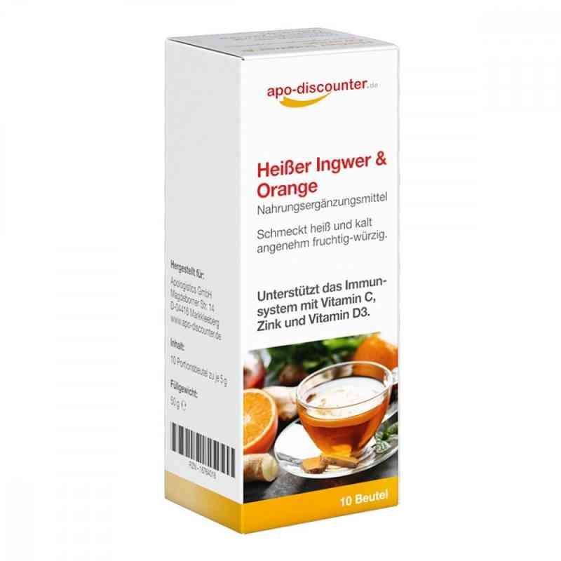 Heisser Ingwer + Orange Pulver von apo-discounter  bei apotheke.at bestellen