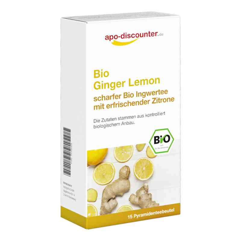 Bio Ginger Lemon Tee Filterbeutel von apo-discounter  bei apotheke.at bestellen