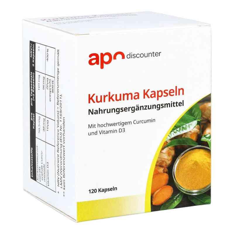 Kurkuma Kapseln mit Curcumin von apo-discounter  bei apotheke.at bestellen