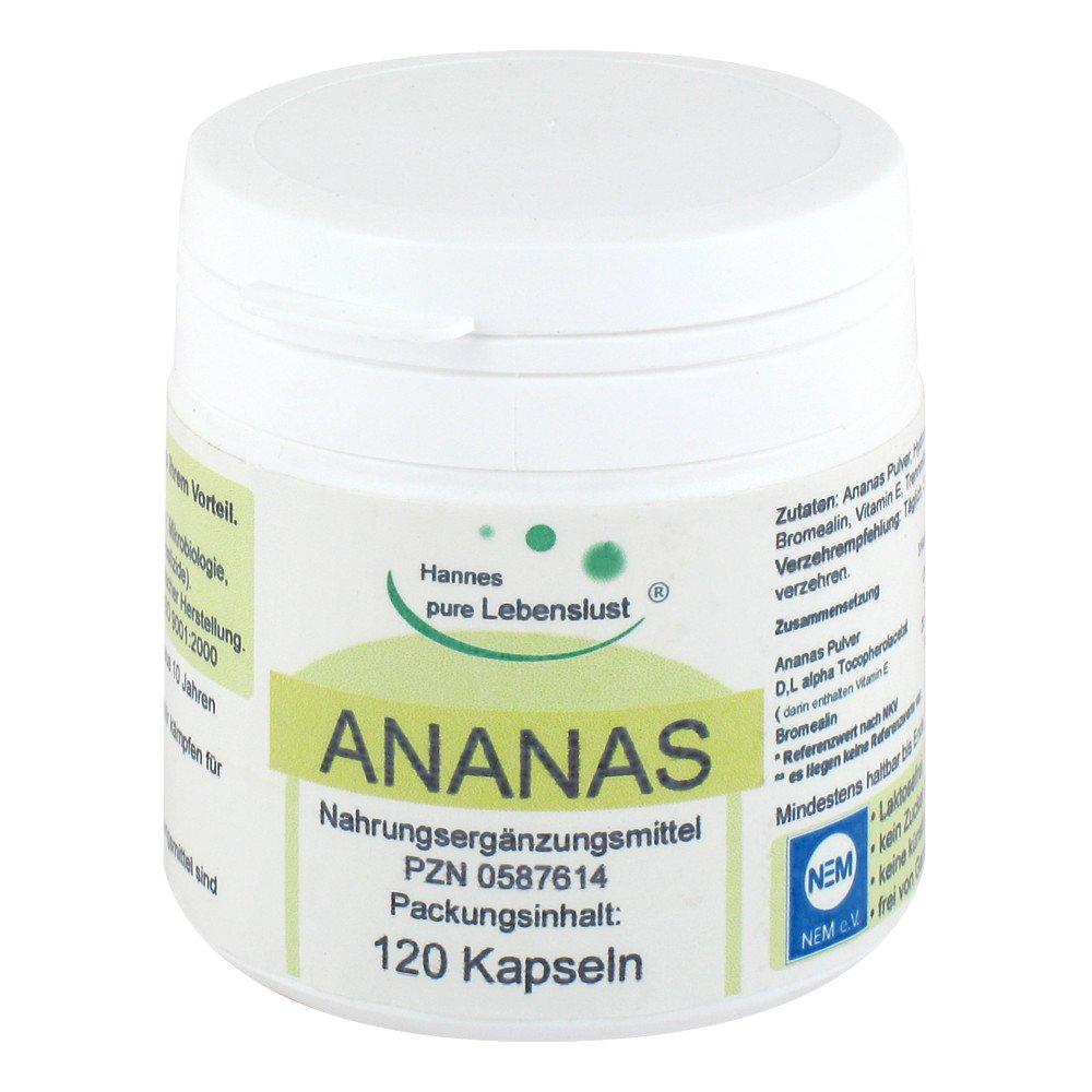 Ananas Enzyme Kapseln 120 Stk Günstig Bei Apothekeat