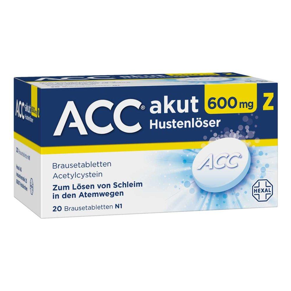 ACC akut 600mg Z Hustenlöser 20 stk - günstig bei apotheke.at