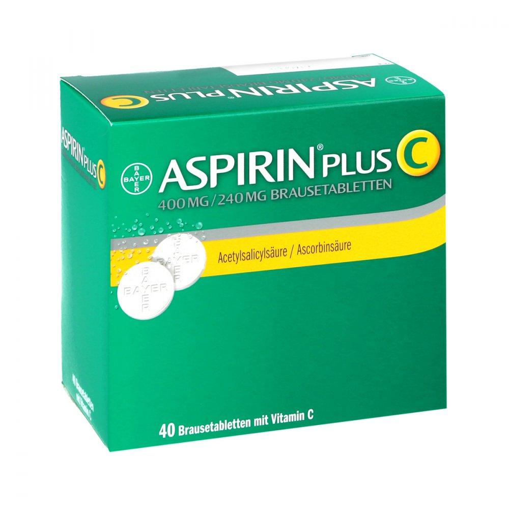 aspirin plus c 40 stk online versand. Black Bedroom Furniture Sets. Home Design Ideas