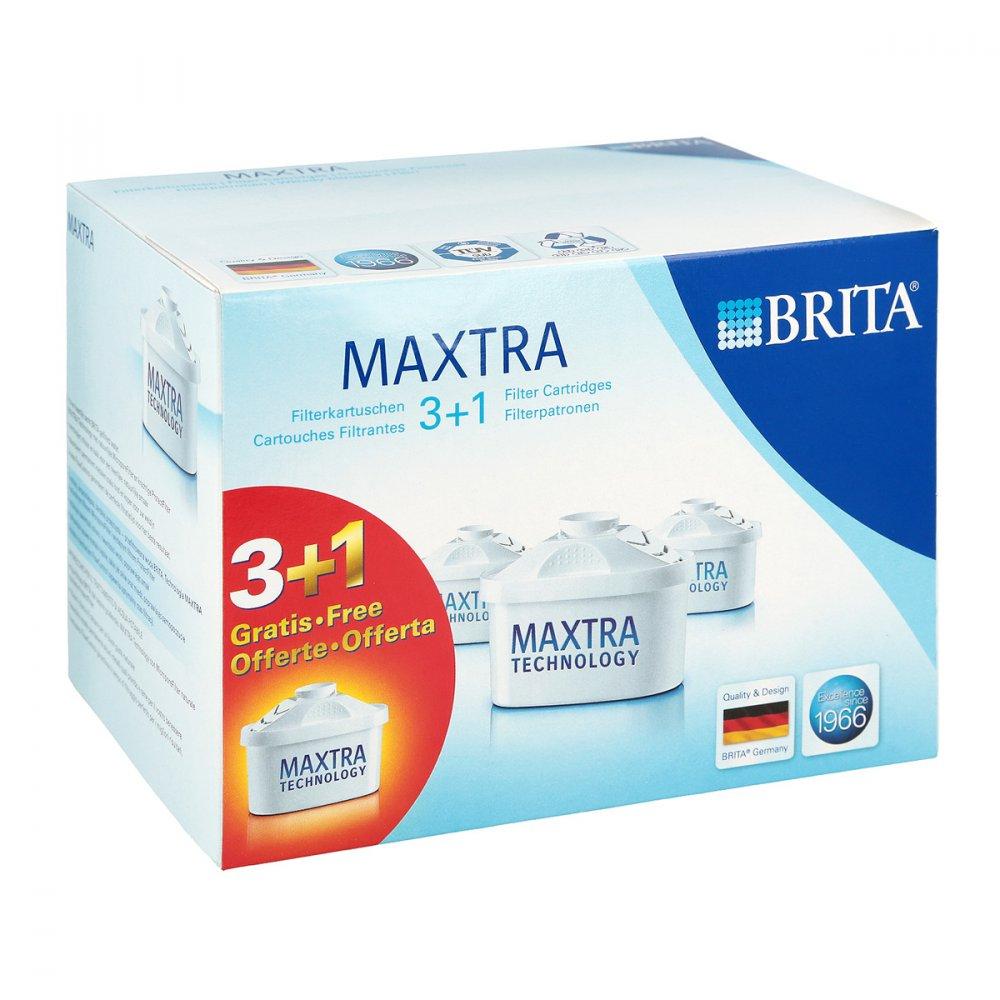 Brita Maxtra Filterkartusche Pack 3+1 4 stk