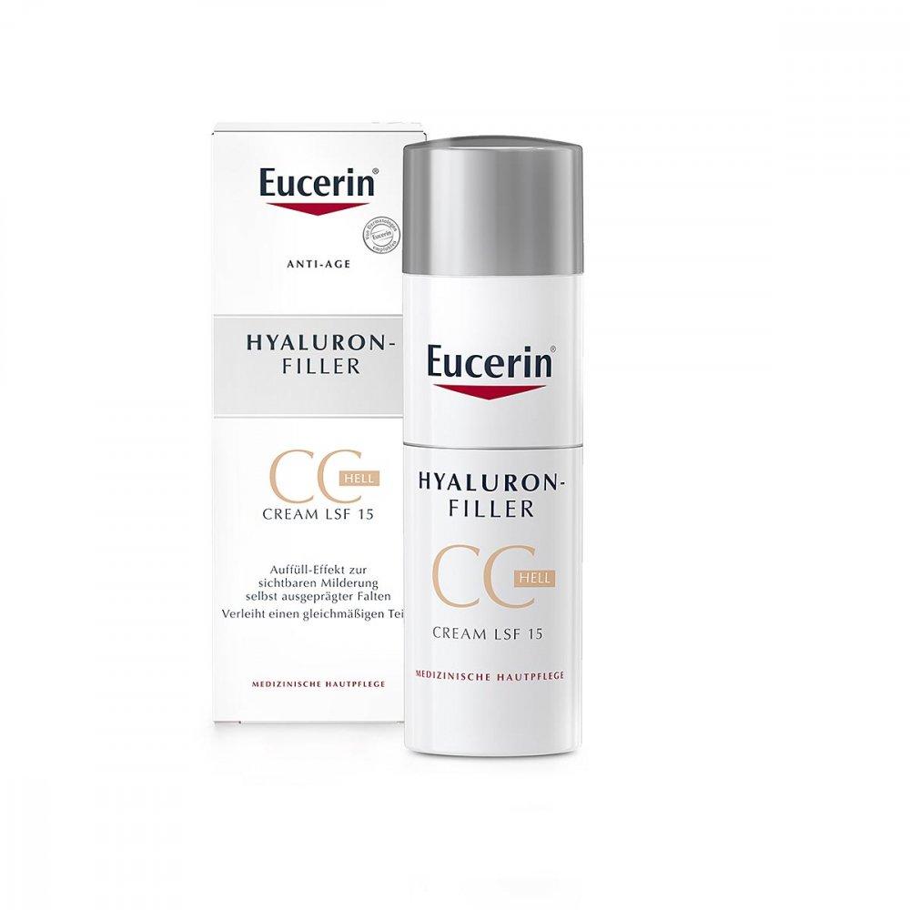 Eucerin Anti-age Hyaluron-filler Cc Cream hell 50 ml
