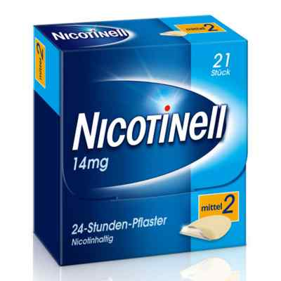 Nicotinell 14 mg (ehemals 35 mg) 24-Stunden-Pflaster  bei apotheke.at bestellen