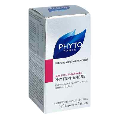 Phytophanere Nahrungsergänzung Haare+nägel Kapseln