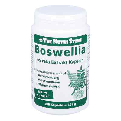 Boswellia 400 mg Extrakt vegetarische Kapseln  bei apotheke.at bestellen