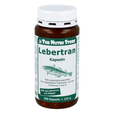 Lebertran 500 mg Kapseln  bei apotheke.at bestellen