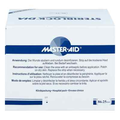 Steriblock Dialyse-pflaster 86x25mm Master Aid  bei apotheke.at bestellen