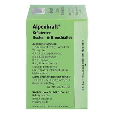 Alpenkraft Husten- und Bronchialtee Salus  bei apotheke.at bestellen