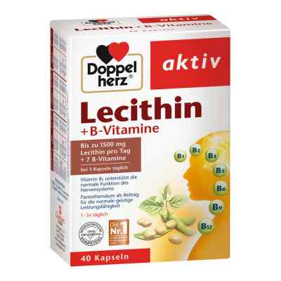 Doppelherz Lecithin + B-vitamine Kapseln  bei apotheke.at bestellen
