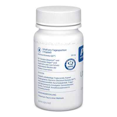 Pure Encapsulations Ubiquinol Qh 50 mg Kapseln