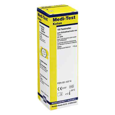 Medi Test Keton Teststreifen