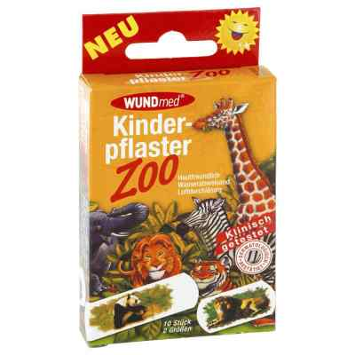 Kinderpflaster Zoo 2 Grössen