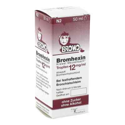 Bromhexin Krewel Meuselbach 12mg/ml  bei apotheke.at bestellen