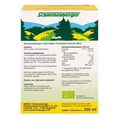 Acerola Saft Schoenenberger Heilpflanzensäfte  bei apotheke.at bestellen
