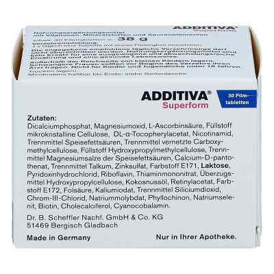 Additiva Superform Filmtabletten  bei apotheke.at bestellen