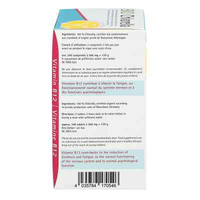 Chlorella 500 mg Bio Naturland Tabletten  bei apotheke.at bestellen