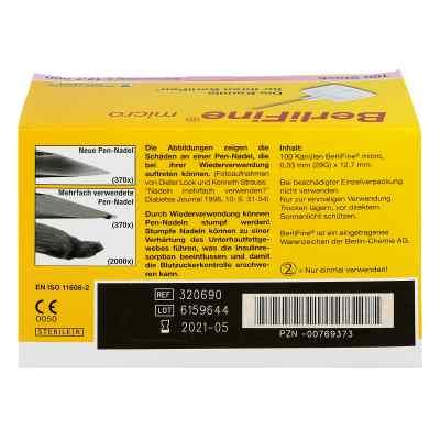 Berlifine micro Kanülen 0,33x12,7 mm  bei apotheke.at bestellen