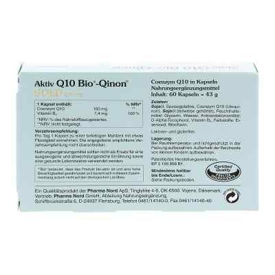 Q10 Bio Qinon Gold 100 mg Kapseln  bei apotheke.at bestellen
