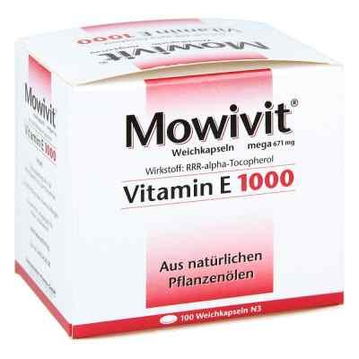 Mowivit Vitamin E 1000 Kapseln  bei apotheke.at bestellen