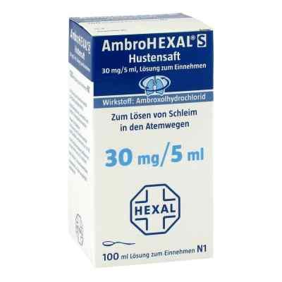 AmbroHEXAL S Hustensaft 30mg/5ml