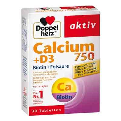 Doppelherz Calcium 750 + D3 + Biotin Tabletten  bei apotheke.at bestellen