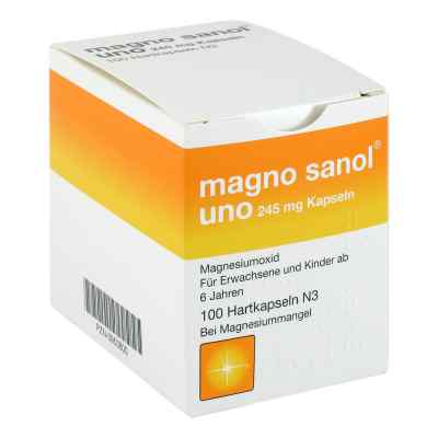 Magno Sanol uno 245 mg Hartkapseln  bei apotheke.at bestellen