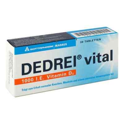 Dedrei vital Tabletten  bei apotheke.at bestellen