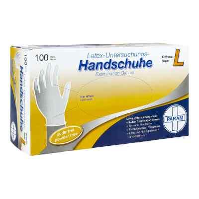 Handschuhe Einmal Latex puderfrei L  bei apotheke.at bestellen