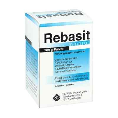 Rebasit Mineral Pulver
