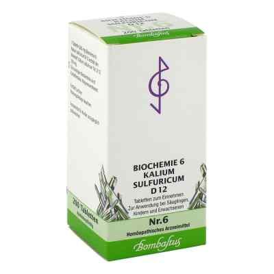 Biochemie 6 Kalium sulfuricum D12 Tabletten  bei apotheke.at bestellen