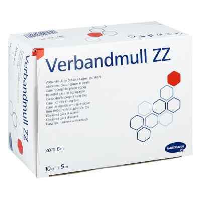 Verbandmull Hartmann 10 cmx5 m zickzack