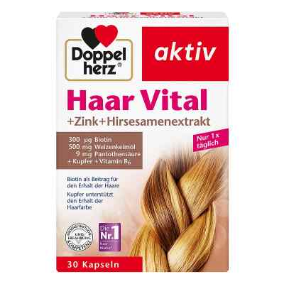 Doppelherz Haar Vital+zink+hirseextrakt Kapseln  bei apotheke.at bestellen