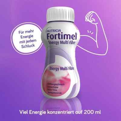 Fortimel Energy Multi Fibre Erdbeergeschmack  bei apotheke.at bestellen