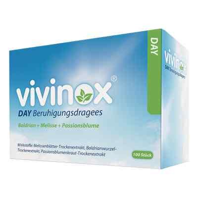 Vivinox Day Beruhigungsdragees Baldrian+Melisse+Passionsbl.